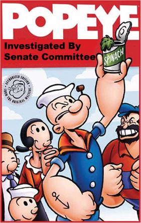 Popeye investigated by Senate Committee